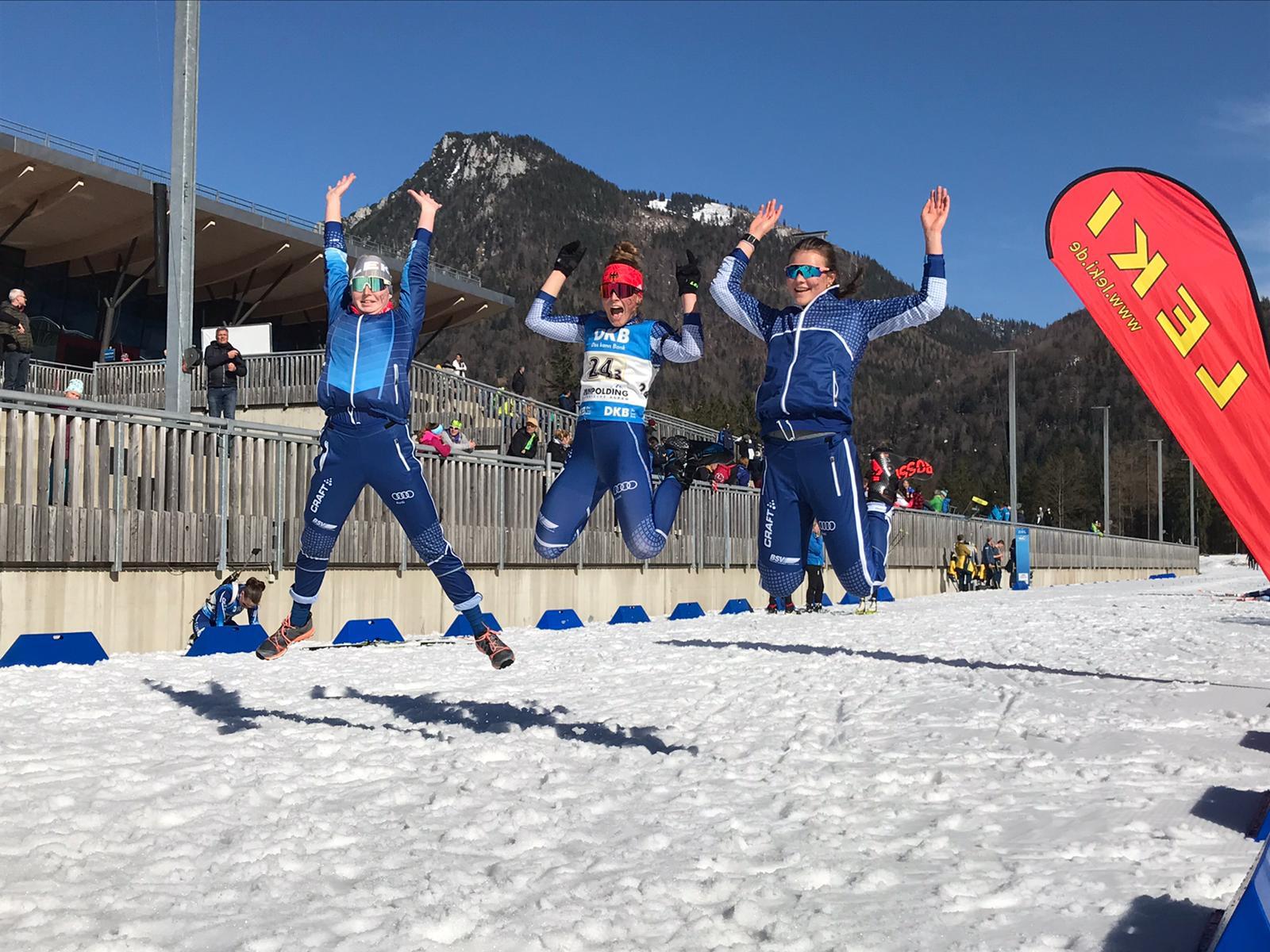 Finale Deutschlandpokal/Deutsche Jugendmeisterschaft Biathlon